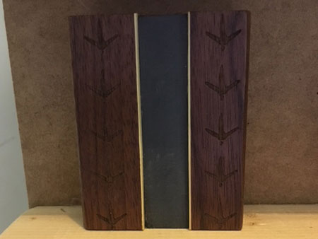 Scratch Box Call Walnut and Sycamore This Little Box Does it All Shirt Pocket